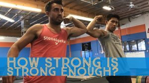 How strong is strong enough