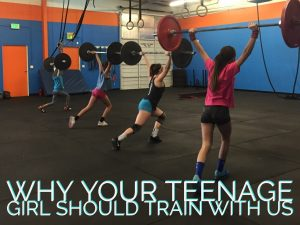 Why your teenage girl should train with us